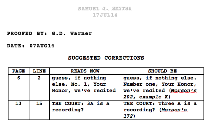 If the complete stenographic transcript of the o. J. Simpson trial.